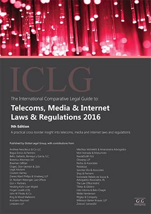 Telecoms, Media and Internet Laws and Regulations 9th Edition