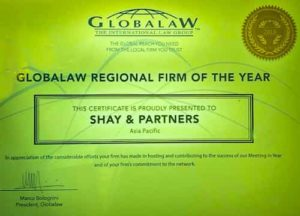 Globalaw Regional firm of the year