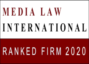 Ranked Firm 2020 of Media Law International